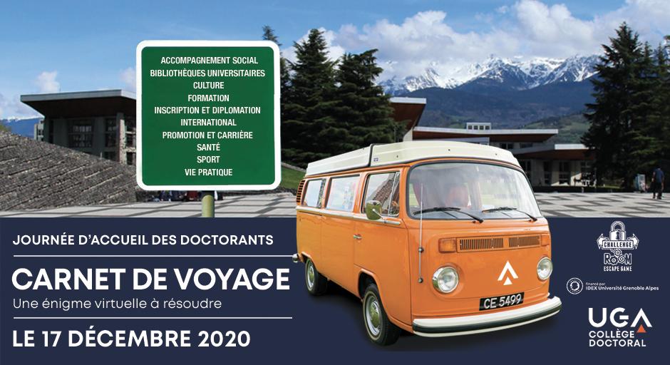 Journée d'accueil des doctorants 2020/2021