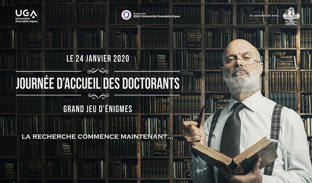 Journée d'accueil des doctorants - JAD 2020