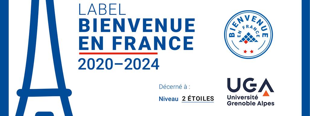 Bienvenue en France : Label UGA