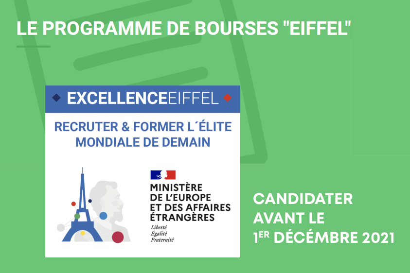 Programme Bourses EIFFEL 2022