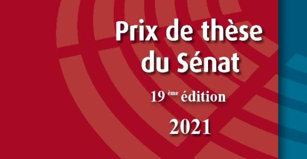 Prix de thèse du Sénat 2021
