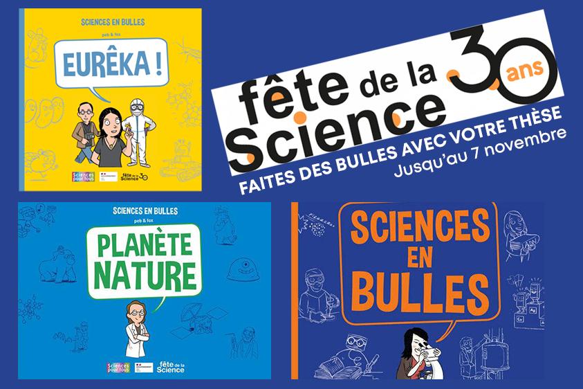 Sciences en bulles 2022